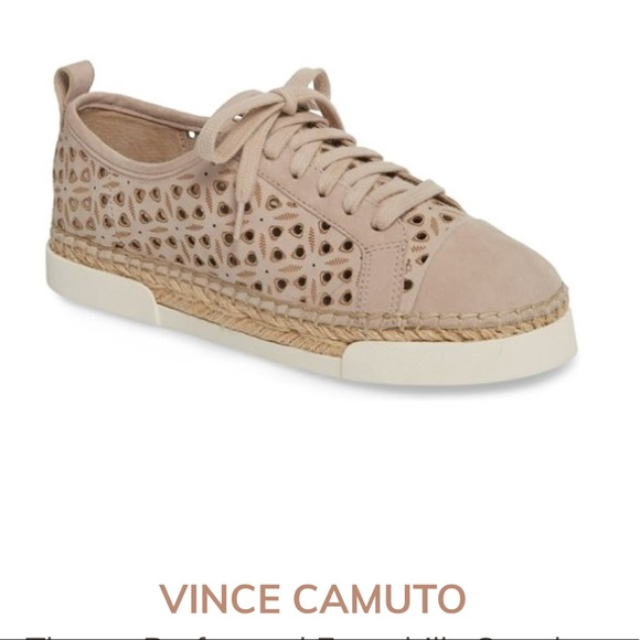 be073a561d1 Vince Camuto Theera Perforated Espadrille Sneaker
